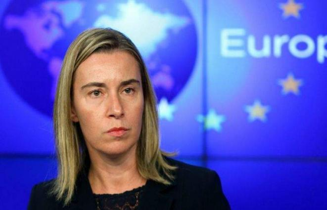 Mogherini Says Asked Astana Guarantors to Help Establish Syrian Constitutional Committee