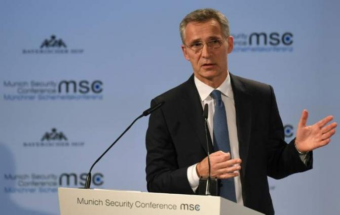 NATO Chief Stoltenberg Says Accepts Invitation to Speak at US Congress in April