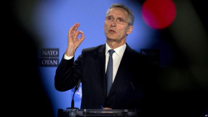 NATO Chief Stoltenberg Says Gladly Accepted Invitation to Address US Congress