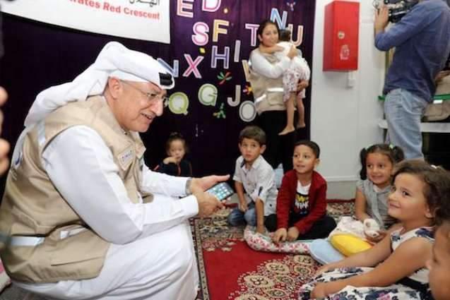 UAE is a unique model for supporting children: Nahyan bin Mubarak