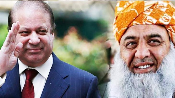 JUI-F chief Fazlur Rahman to meet Nawaz Sharif in jail