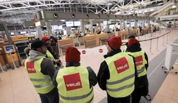 Trade Union Holds Strike at Hamburg Airport, One-Fifth of Flights Canceled - Airport