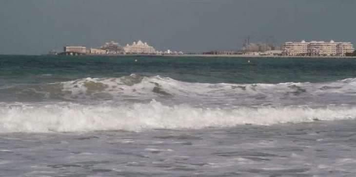 Windy weather warning in Arabian Gulf