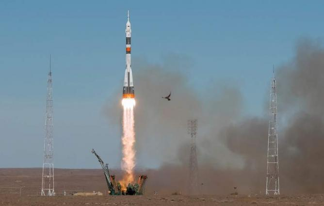 Soyuz MS-12 Separates From Carrier Rocket, Heads to ISS