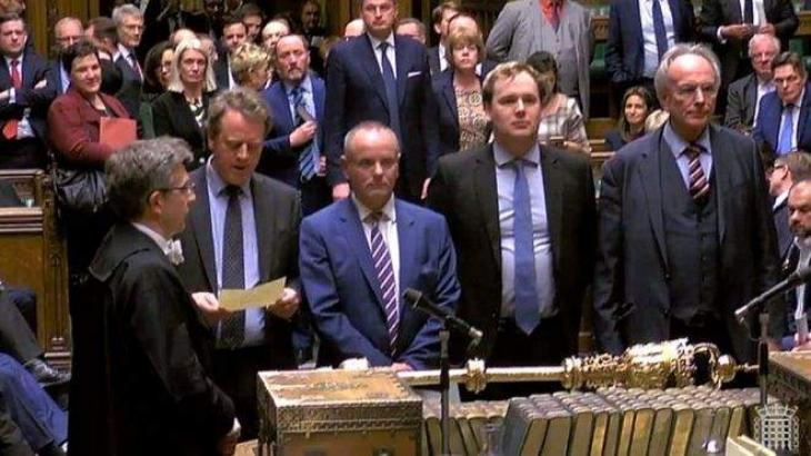 UK MPs vote by 412 to 202 to seek delay to EU departure