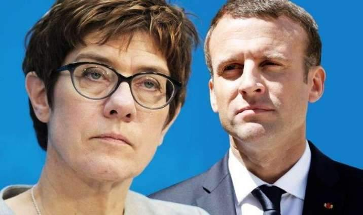 France, Germany Offer Differing Visions on Europe's Future