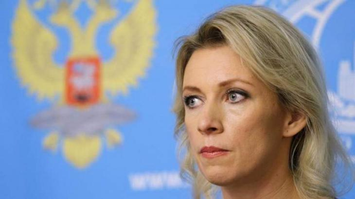 Zakharova Describes West Collecting Aid for Damascus Amid Syria Sanctions as 'Absurd'