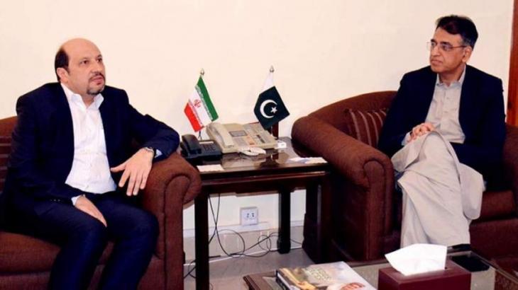 Pakistan, Iran reiterate desire to enhance bilateral trade