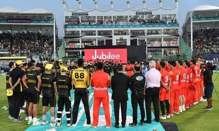 PSL-4: Players wear black armbands to show respect to New Zealand victims