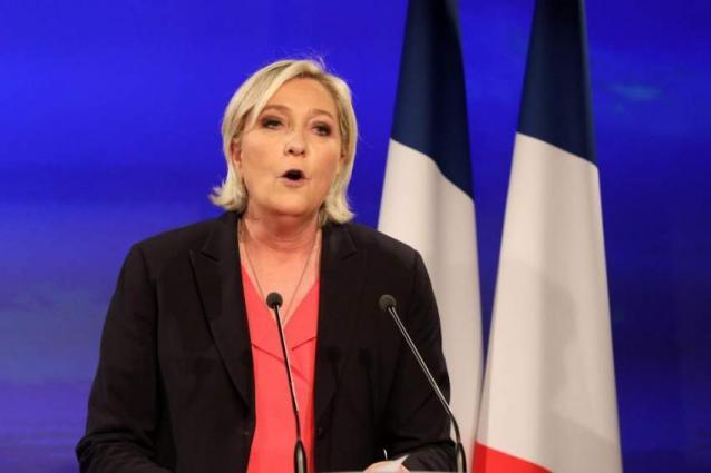 Marine Le Pen Condemns 'Cowardly' Terrorist Act in New Zealand