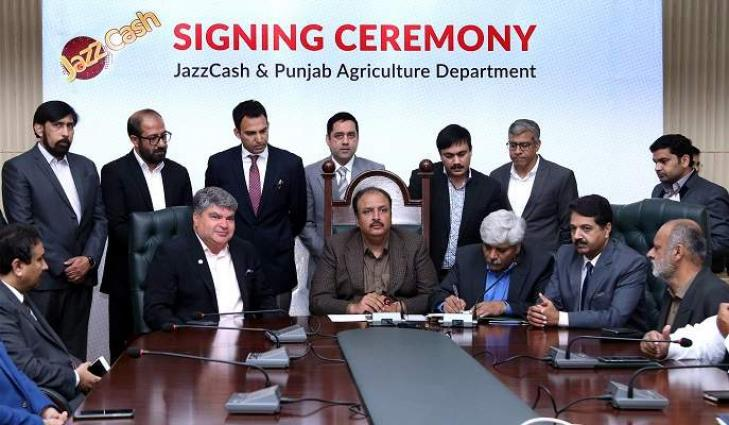 Digitizing Agriculture Payments JazzCash Joins Hands with The Government of Punjab