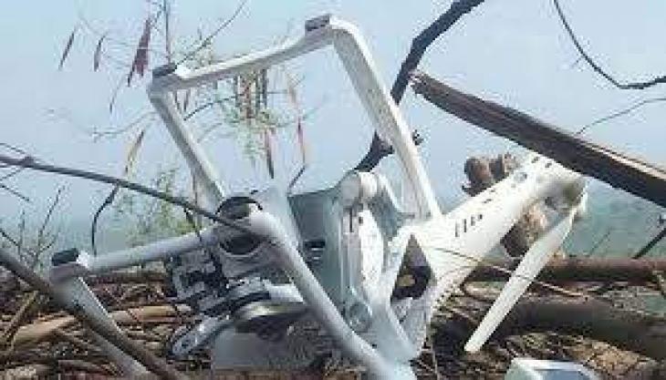 Pakistan shoots down Indian spy drone near LoC