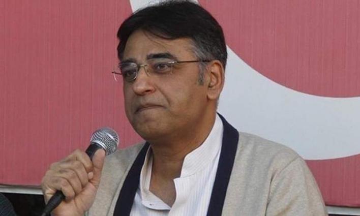 Development work to be continued despite difficulties: Asad Umar