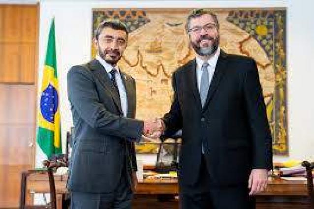 Abdullah bin Zayed meets Brazilian FM
