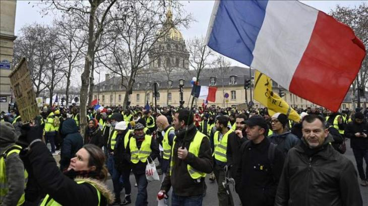 Over 7,000 People Taking Part in Yellow Vest Rallies in Paris - French Interior Minister