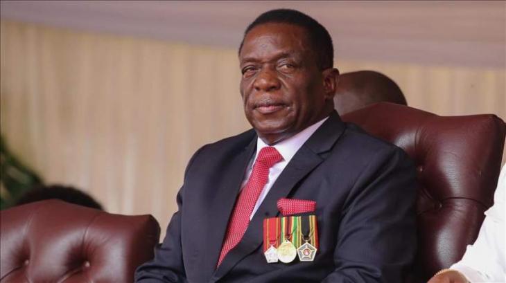 President of Zimbabwe arrives in UAE