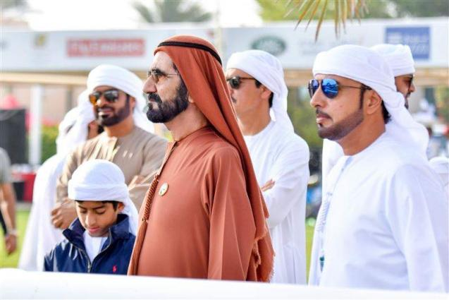 Mohammed bin Rashid attends Dubai Crown Prince Endurance Festival