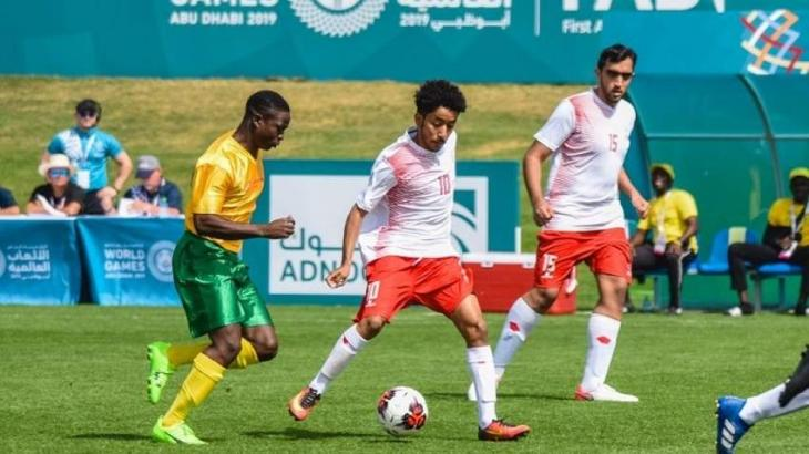 UAE Men's Football Team Celebrate another victory at Special Olympics World Games Abu Dhabi 2019