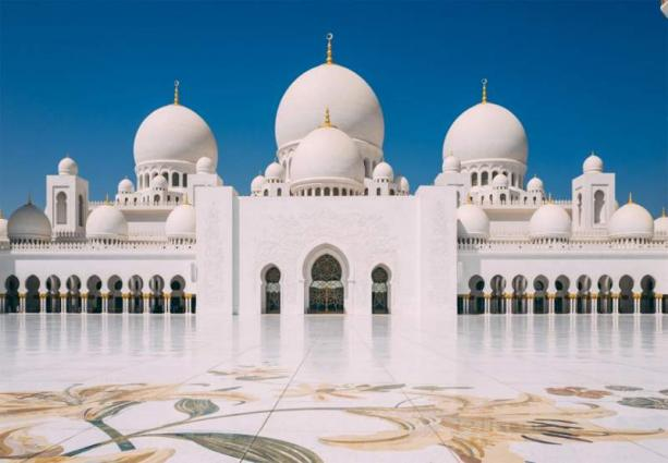 New Zealand Olympic team visit Sheikh Zayed Grand Mosque