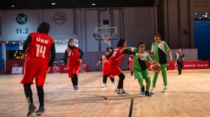 UAE Women's Basketball Teams triumphant on day two of Special Olympics