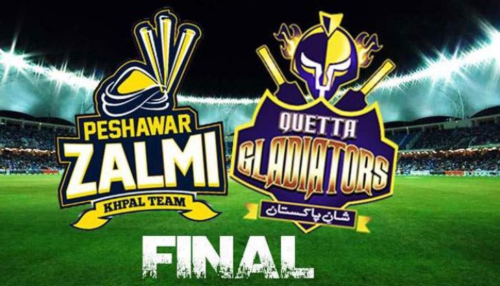 Quetta Gladiators to face Peshawar Zalmi in PSL 4 final today