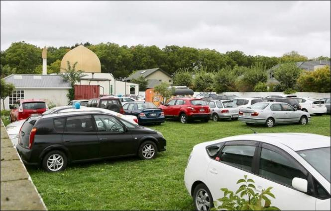 Victims' cars still remain parked at Christchurch mosque three days on