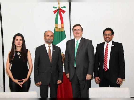 Al Jarwan, Mexican Foreign Secretary discuss promoting tolerance, peace