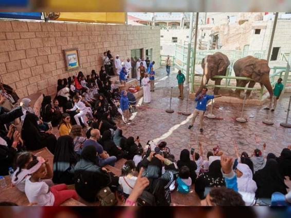 Faraj Fund hosts inmates' children on 'Emirati Children's Day'