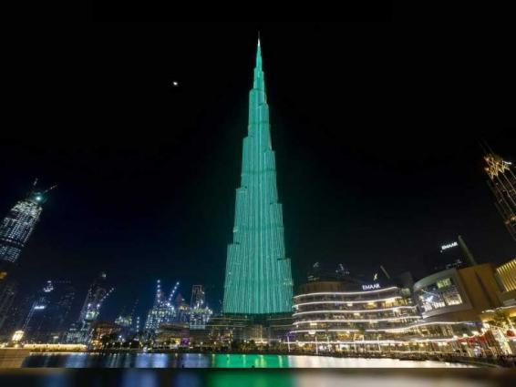 World's tallest building goes green in celebration of Ireland's National Day