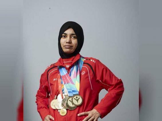 Hamda Al Hosani is UAE golden girl at Special Olympics