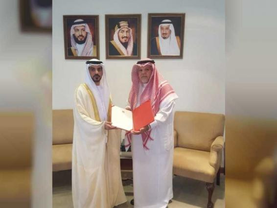 Al Ketbi presents credentials as UAE Consul-General to Jeddah