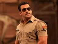 Dabangg 3': Salman Khan announces the wrap of  Hud Hud Dabangg' s ..
