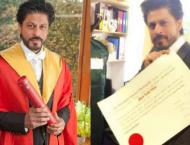 Shah Rukh Khan felicitated with Honorary Doctorate of Philanthrop ..