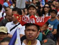Protesters warn of Chinese 'invasion' of Philippines