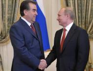 Putin to Discuss Bilateral Relations With Tajik Counterpart on Ap ..