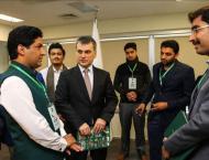 Pakistani youth visit Anadolu Agency