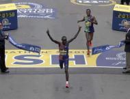 Cherono in last gasp Boston Marathon win