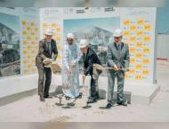 Germany celebrates start of its Expo 2020 pavilion construction w ..