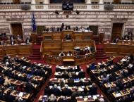 Greek parliament debates German war payments resolution