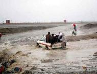 Four persons killed, eight injured in torrential rain