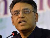 Asad Umar steps down as Finance Minister
