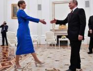 Putin, Estonia Leader Discussed Russian-Speaking Minority's Life  ..