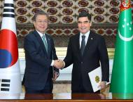 President of the Republic of Korea paid a state visit to Turkmeni ..