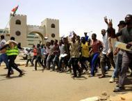 Protesters mass outside Sudan army complex