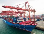Shipping activity at Port Qasim 19 April 2019