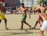 Sahiwal division team wins gold medal in Kabbadi tournament