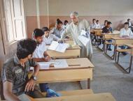 DC Korangi pays surprise visit to examination centres