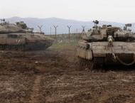 Israeli tank, aircraft hit Gaza after cross-border shots:army