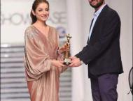 Sarwat Gilani receives award for promoting Special Olympics Pakis ..