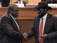 South Sudan president urges rebel chief to join unity government ..